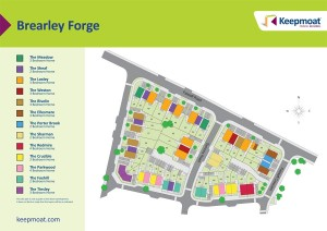 Original Site Map for Brearley Forge