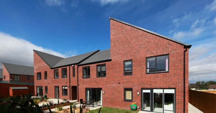 Brearley Forge Sales Office and Showhomes - Garden View