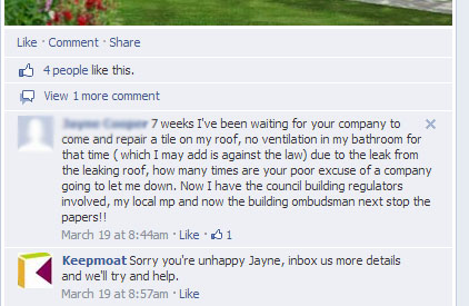 FACEBOOK 210314 Missing Roof Tile